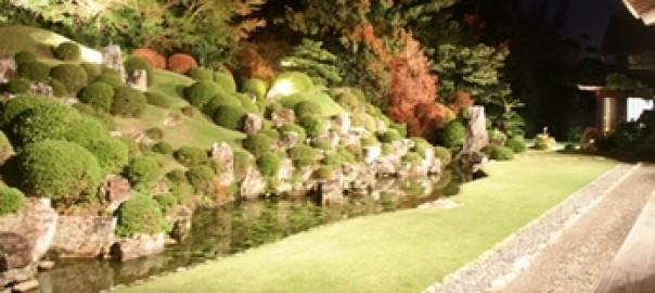国指定名称の庭(龍潭寺)