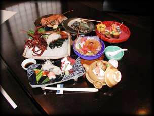 海賀荘(食事)
