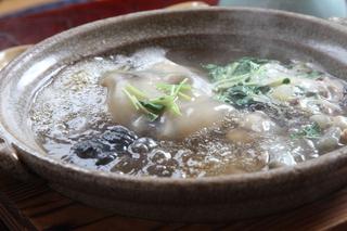 すっぽん鍋(山本亭)