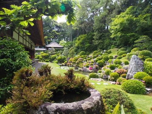 龍潭寺 国指定名勝の庭