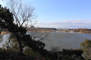 6_龍雲寺境内から眺める佐鳴湖