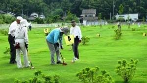 ★スポーツの秋★ グラウンド・ゴルフに挑戦!