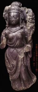 豊穣の女神像(ラクシュミー像) 写真提供:シルクロード・ミュージアム