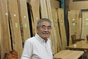 銘木堂 代表取締役 後藤さん