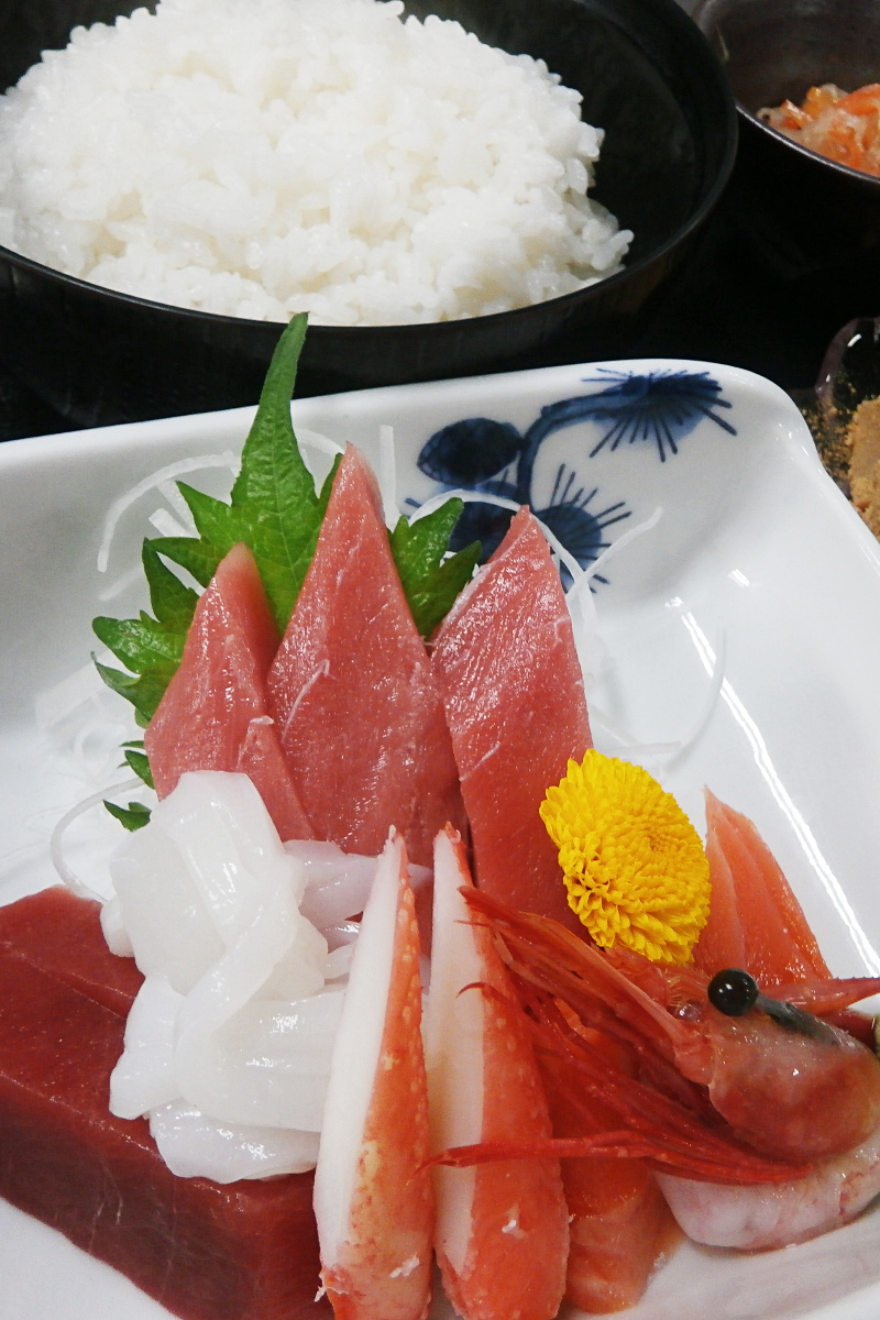 魚勝 刺身定食