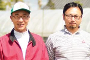 浜名湖ファーム 近藤さんと藤村さん