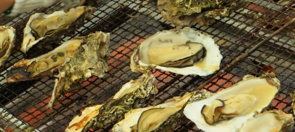 新居牡蠣小屋2015 焼き牡蠣