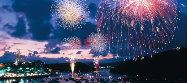 舘山寺の花火大会