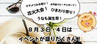 8月3日・4日に浜松・浜名湖周辺で開催されるおすすめのイベント